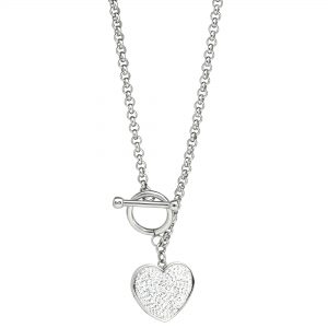 Women's Stainless Steel Specialty Toggle Necklace