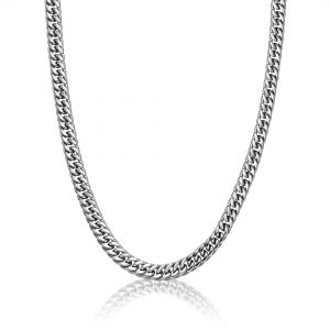 BS5777/SS/22 Stainless Steel Thin Chain Necklace - 3 MM, 22 Inches Length with Lobster Lock