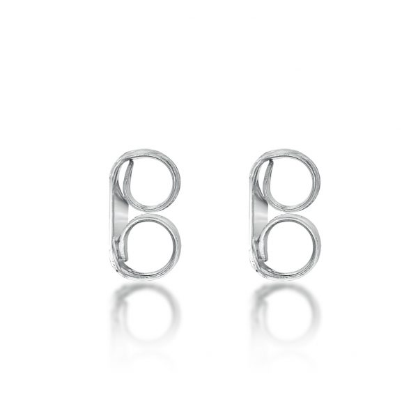 Silver Replacement Earring Back